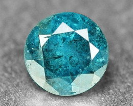 0.20  Cts Sparkling Rare Fancy Intense Blue Color Natural Loose Diamond