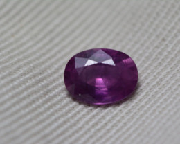 GIA Certified Unheated Purple Pink Sapphire 1.14 Carats Untreated GIA Certi