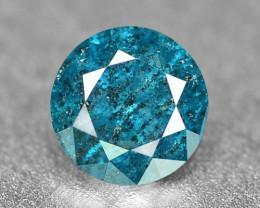 0.13 Cts Sparkling Rare Fancy Intense Blue Color Natural Loose Diamond