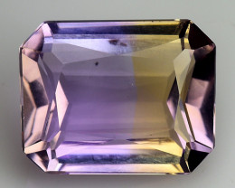 3.48 CT BOLIVIAN AMETRINE TOP CLASS LUSTER GEMSTONE AT3