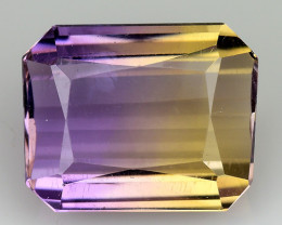3.87 CT BOLIVIAN AMETRINE TOP CLASS LUSTER GEMSTONE AT14