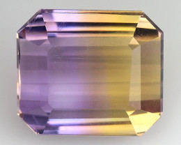 4.44 CT BOLIVIAN AMETRINE TOP CLASS LUSTER GEMSTONE AT20