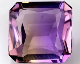 3.41 Cts Bolivian Ametrine Stunning Luster & Cut Gemstone  AR9