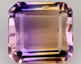 4.66 Cts Bolivian Ametrine Stunning Luster & Cut Gemstone  AR14