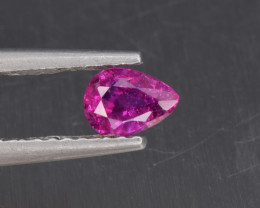 Natural Ruby 0.32 Cts from Afghanistan, Top Quality