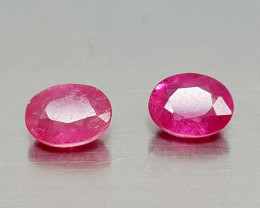 1Crt Natural Ruby Heated Natural Gemstones JI13