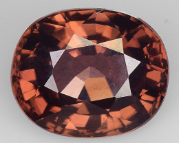 3.71 Ct  Zircon Awesome Color and Luster Gemstone Z20