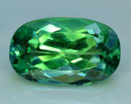 NR Auction 11.25 Grams Amazing Lush Green Hiddenite Kunzite Gemstone