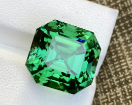 Gorgeous Chrome Color 23.50 Ct Natural Afghani Tourmaline