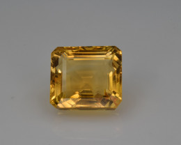 Natural Citrine 6.26 Cts Faceted Gemstone