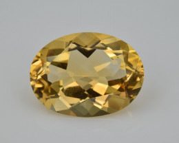 Natural Citrine 7.74  Cts Faceted Gemstone