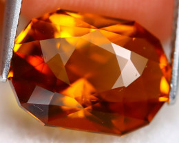 Madeira Citrine 5.14Ct VVS Master Cut Natural Orange Citrine B1102