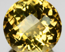 9.85 Cts Fancy Golden Yellow Color Natural Citrine Gemstone