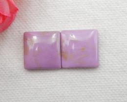 20cts ziyun mother jasper cabochons earrings ,gemstone earrings ,healing st