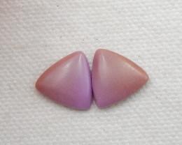 7.5cts ziyun mother jasper cabochons earrings ,gemstone earrings ,healing s
