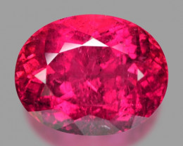 9.70 Cts Un Heated Pink Color Natural Rubellite  Loose Gemstone