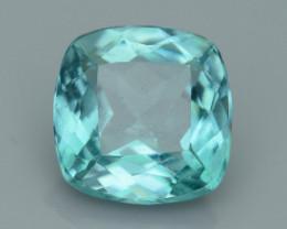 Rare 4.31 ct Amazing Luster Blue Apatite SKU.13