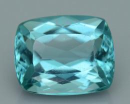 Rare 4.27 ct Amazing Luster Blue Apatite SKU.13