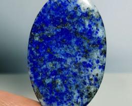 55.00 ct Natural Lapiz lazuli Oval Cabochon  Gemstone