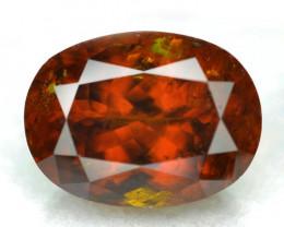 7.03 Cts Un Heated  Browinsh Yellow Natural Bastnasite Loose Gemstone