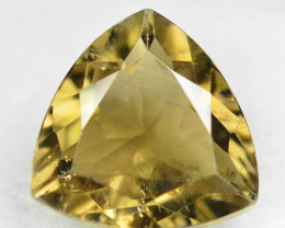 *No Reserve*3.07 Cts Un Heated Yellow  Color Natural Tourmaline