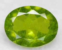 3.05Cts Amazing Rare Green Color Natural Vasvanite Loose Gemstone
