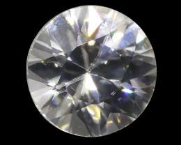 1.89 ct Round White/Clear Zircon