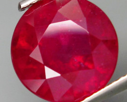 6.25 Cts. Top Quality Blood Red Natural Ruby Madagascar Gem