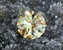 6.59 ct Yellow Beryl - Competition Level Cut - Flawless Clarity