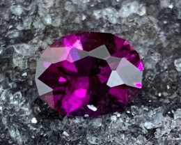 3.30 ct Mozambique Grape Garnet - Precision Cut Oval