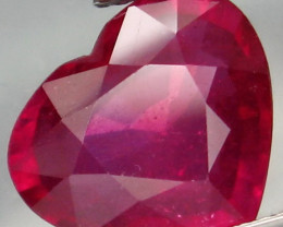 5.40 Cts. Top Quality Blood Red Natural Ruby Burma Gem