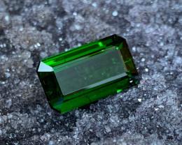 19.85 ct Green Tourmaline - VVS Clarity - Emerald Cut