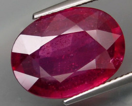 10.10 Cts . Top Quality Natural  Ruby   Winza Tanzania Gem