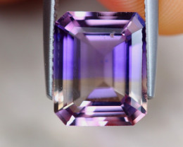 4.86Ct Natural Bi Ametrine Emerald Cut Lot A971