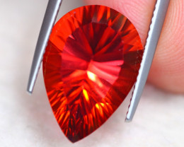 10.75ct Natural Top Red Topaz Pear Cut Lot S142