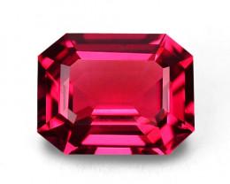 High gem quality natural Myanmar vivid red-pink spinel.