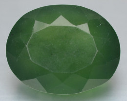 11.55 Cts Untreated Natural Fancy Green Serpentine
