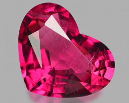 3.69 Cts Un Heated Pink Color Natural Rubellite  Loose Gemstone