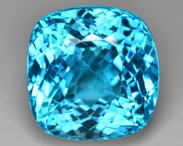 33.38 Carat Amazing Rare Super Swiss Blue Color Natural Topaz Gemstones