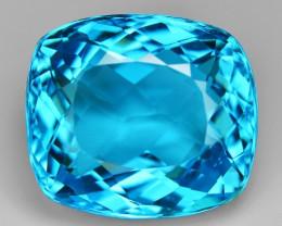 33.71 Carat Amazing Rare Super Swiss Blue Color Natural Topaz Gemstones