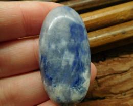 Natural gemstone sodalite cabochon (G1946)