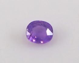 1.14ct unheated purple sapphire