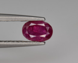 Natural Ruby 0.70 Cts from Afghanistan, Top Quality