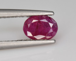 Natural Ruby 0.89 Cts from Afghanistan, Top Quality