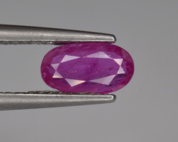 Natural Ruby 0.99 Cts from Afghanistan, Top Quality