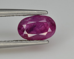 Natural Ruby 1.45 Cts from Afghanistan, Top Quality