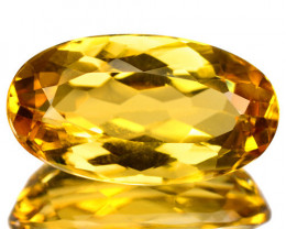 4.69 Cts Amazing Rare Golden Yellow Natural Beryl Loose Gemstone