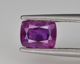 Natural Ruby 1.48 Cts from Afghanistan, Top Quality