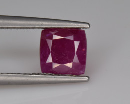 Natural Ruby 1.49 Cts from Afghanistan, Top Quality