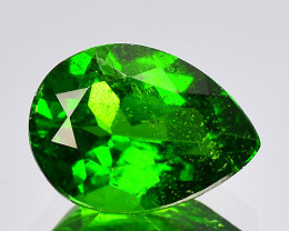 1.18 Cts Natural Green Color Chrome Diopside Loose Gemstone